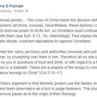 Obeying YHWH = Doctrine of Devils?
